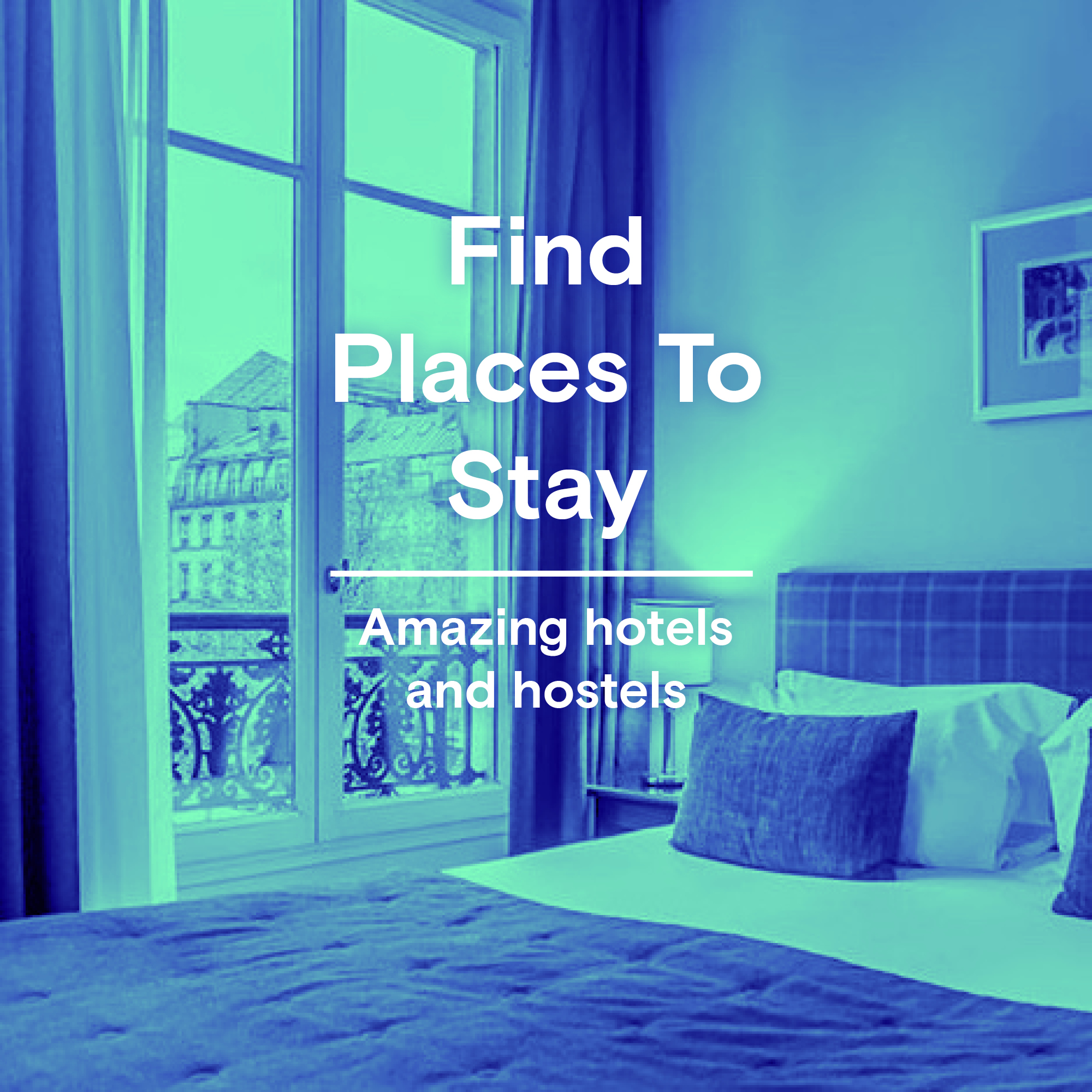 Best places to stay - trvl