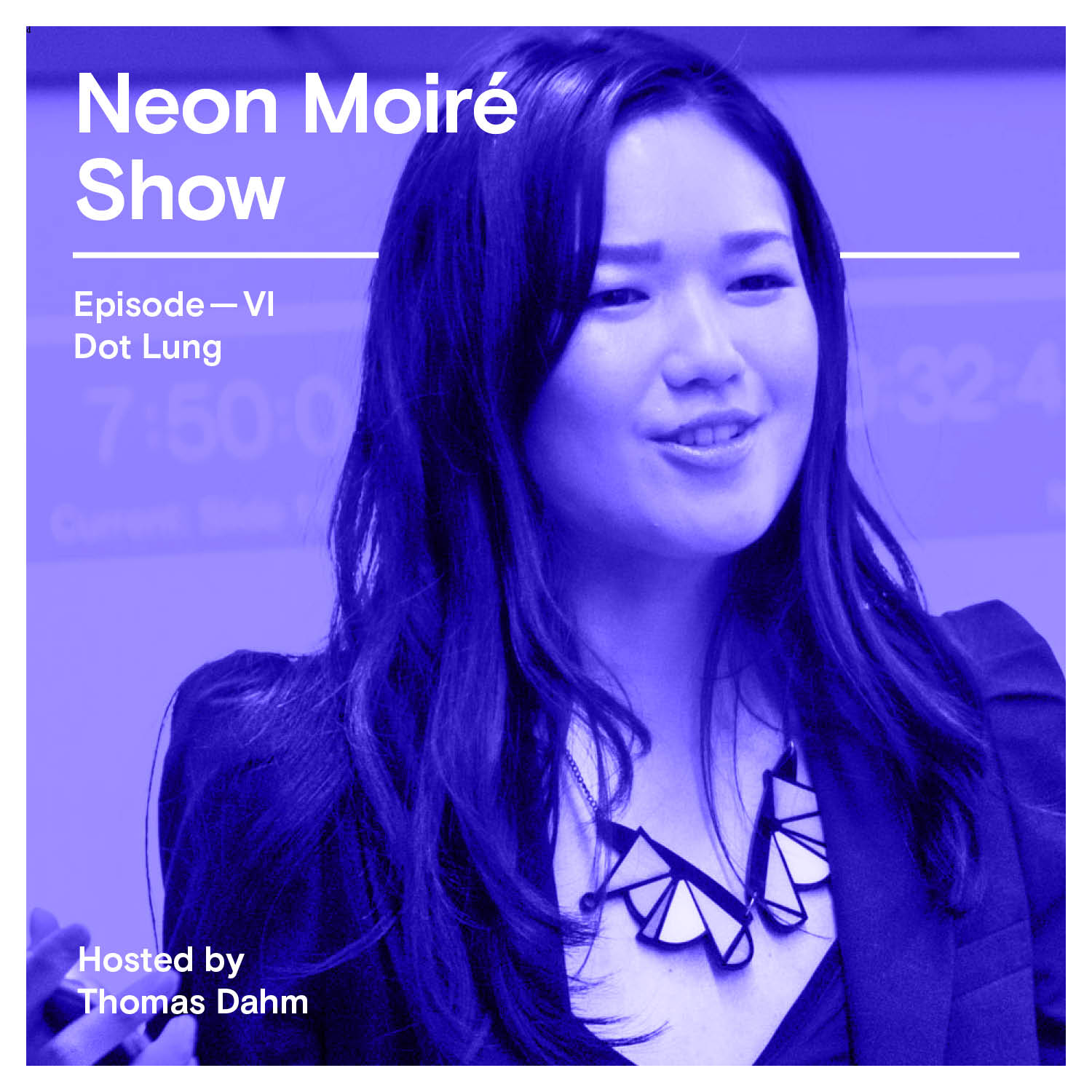 Neon Moiré Show with Dot Lung