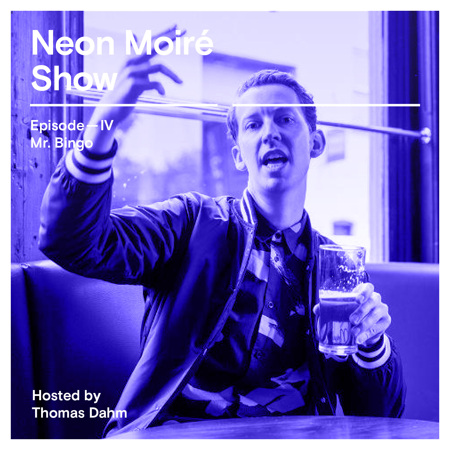 Neon Moire Show with Mr. Bingo